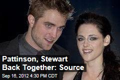 Pattinson, Stewart Back Together: Source