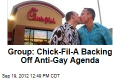 Group: Chick-Fil-A Backing Off Anti-Gay Agenda