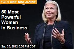 50 Most Powerful Women in Business