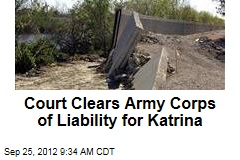 Court Clears Army Corps of Liability for Katrina