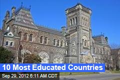 10 Most Educated Countries