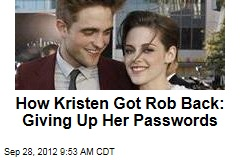 How Kristen Got Rob Back: Giving Up Her Passwords