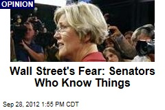 Wall Street's Fear: Senators Who Know Things