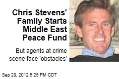 Chris Stevens&amp;#39; Family Starts Middle East Peace Fund