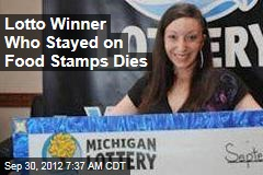 Lotto Winner Who Stayed on Food Stamps Dies