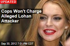 Lindsay Lohan Attacked in Hotel: Cops
