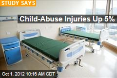 Child-Abuse Injuries Up 5%