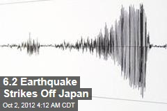 6.2 Earthquake Strikes off Japan