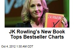 JK Rowling&amp;#39;s New Book Tops Bestseller Charts