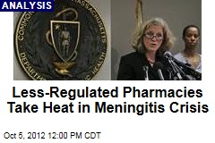 Less-Regulated Pharmacies Take Heat in Meningitis Crisis