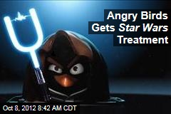 Angry Birds Gets Star Wars Treatment