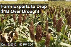 Farm Exports to Drop $1B Over Drought