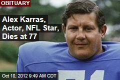 Alex Karras, Actor, NFL Star, Dies at 77