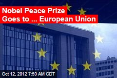 European Union Wins Nobel Peace Prize
