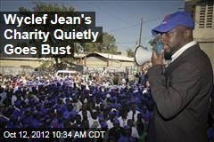 Wyclef Jean's Charity Quietly Goes Bust