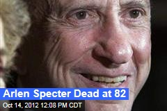 Arlen Specter Dead at 82