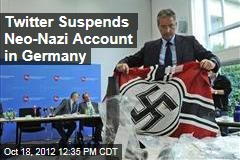 Twitter Suspends Neo-Nazi Account in Germany