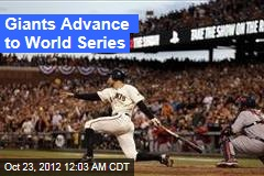 Giants Advance to World Series