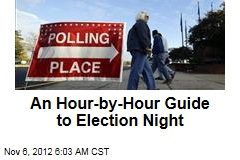An Hour-by-Hour Guide to Election Night