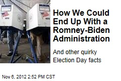 How We Could End Up With a Romney-Biden Administration