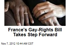 France's Gay-Rights Bill Takes Step Forward