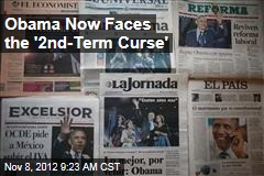 Obama Now Faces the '2nd-Term Curse'