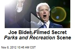 Joe Biden Filmed Secret Parks and Recreation Scene