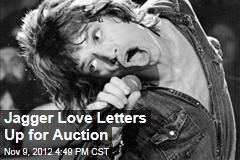 Jagger Love Letters Up for Auction