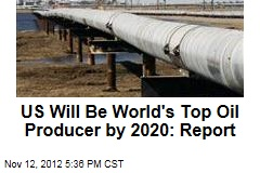 US Will Be World&amp;#39;s Top Oil Producer by 2020: Report