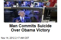 Man Commits Suicide Over Obama Victory
