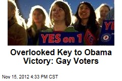 Overlooked Key to Obama Victory: Gay Voters
