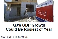 Q3&amp;#39;s GDP Growth Could Be Rosiest of Year