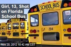 Girl, 13, Shot on Florida School Bus