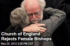 Church of England Rejects Female Bishops