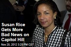 Susan Rice Gets More Bad News on Capitol Hill