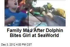 Family Mad After Dolphin Bites Girl at SeaWorld