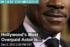 Hollywood's Most Overpaid Actor Is...