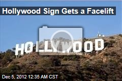 Hollywood Sign Gets a Facelift