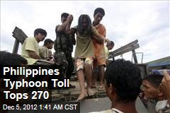 Philippines Typhoon Toll Rises Over 200