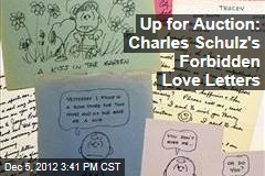 Up for Auction: Charles Schulz's Forbidden Love Letters