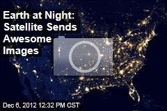 Earth at Night: Satellite Sends Awesome Images