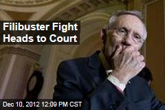 Filibuster Fight Heads to Court
