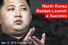 North Korea Fires Long-Range Rocket: South