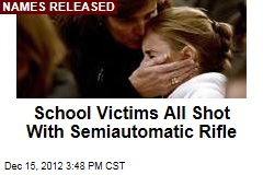 School Victims All Shot Up Close By Rifle