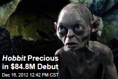 Hobbit Precious in $84.8M Debut