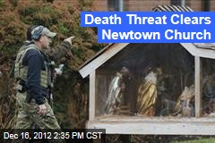 Death Threat Clears Newtown Church