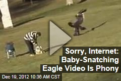 Sorry, Internet: Baby-Snatching Eagle Vid Is Phony