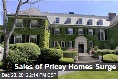 Sales of Pricey Homes Surge