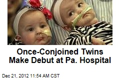 Once-Conjoined Twins Make Debut at Pa. Hospital