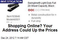 Shopping Online? Your Address Could Up the Prices